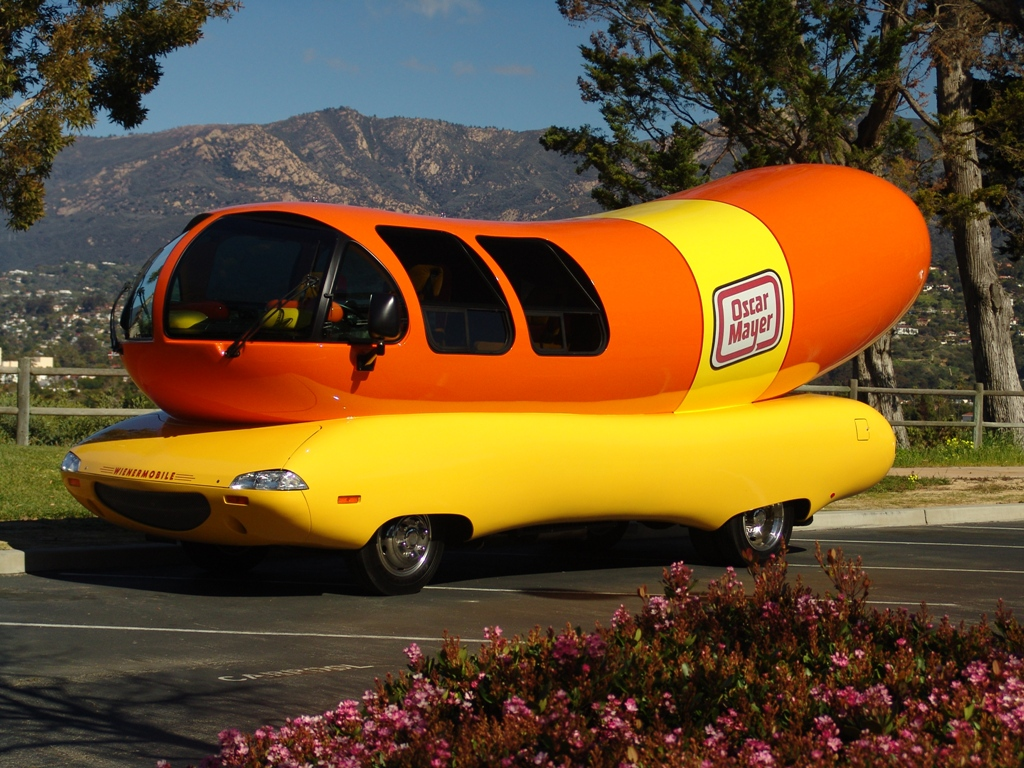 1996 Vintage Oscar Mayer Weinermobile likewise Buffy The V ire Slayer in addition Oscar Mayer Wienermobile Image 11 together with Oscar Mayer Mini Wienermobile additionally Wienermobile Is  ing To Town. on oscar myer dog cars