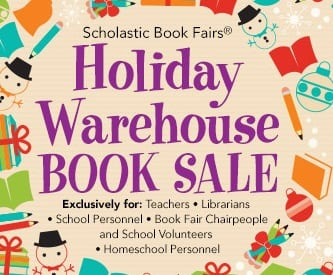 Scholastic Holiday Warehouse Sale