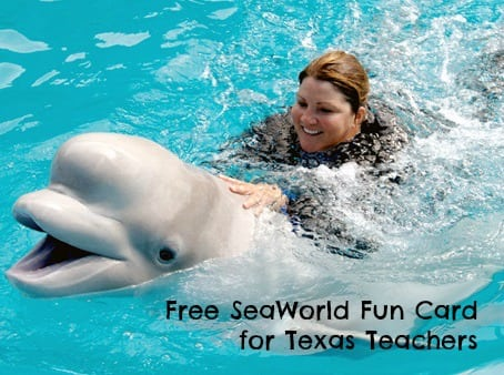 free SeaWorld card for teachers