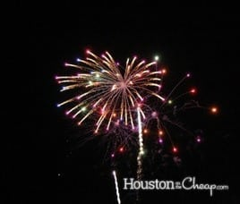 Houston fireworks