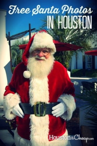 Free Santa Photos in Houston