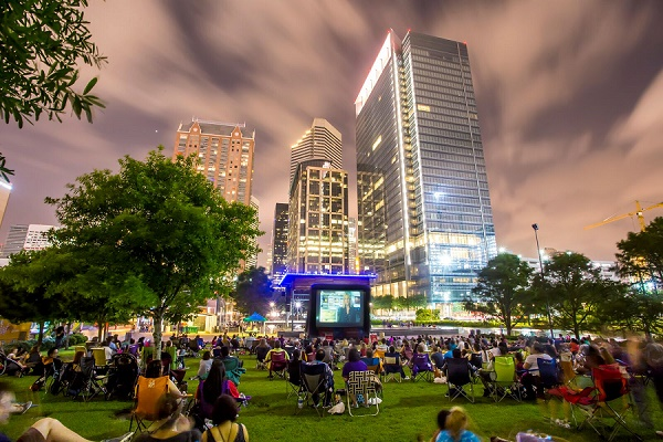 50 Free Outdoor Movies in Houston Summer 2017
