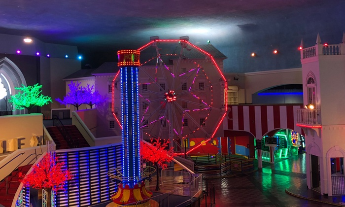 Deal Alert: Get a Fun Pass at FunPlex Amusement Park Coupon for 87% Off