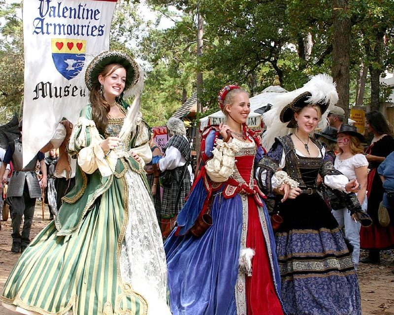 Texas Renaissance Festival Releases 2018 Schedule and Additions