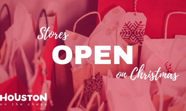 Houston Stores Open on Christmas Day 2020: Grocery & Retail