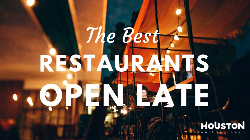 Places to eat open all night
