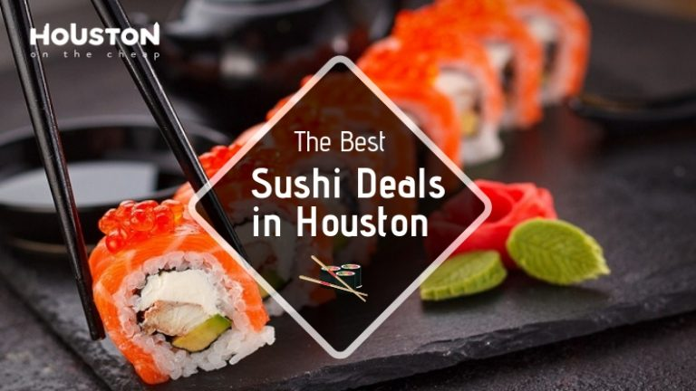 best sushi deals in houston