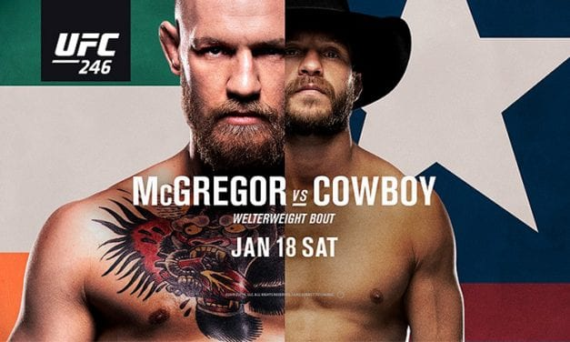 UFC 246 Live Stream: Watch McGregor vs Cowboy Cerrone Online