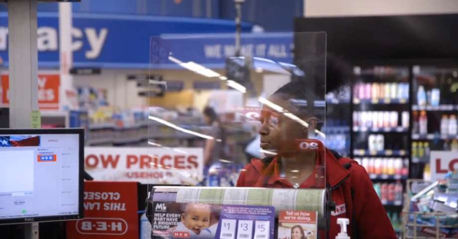 H-E-B is Installing Protective Shields in Checkout Lines
