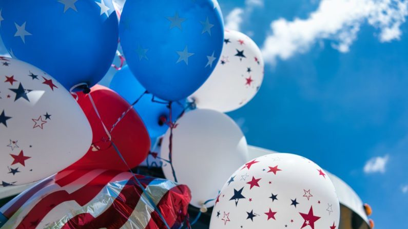 July 4th balloons