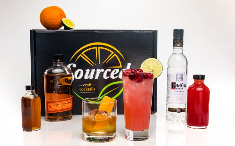 sourced cocktail kits