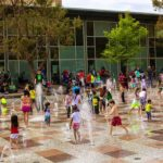 Gateway Fountain Splash Pad at Discovery Green Is Now Open!